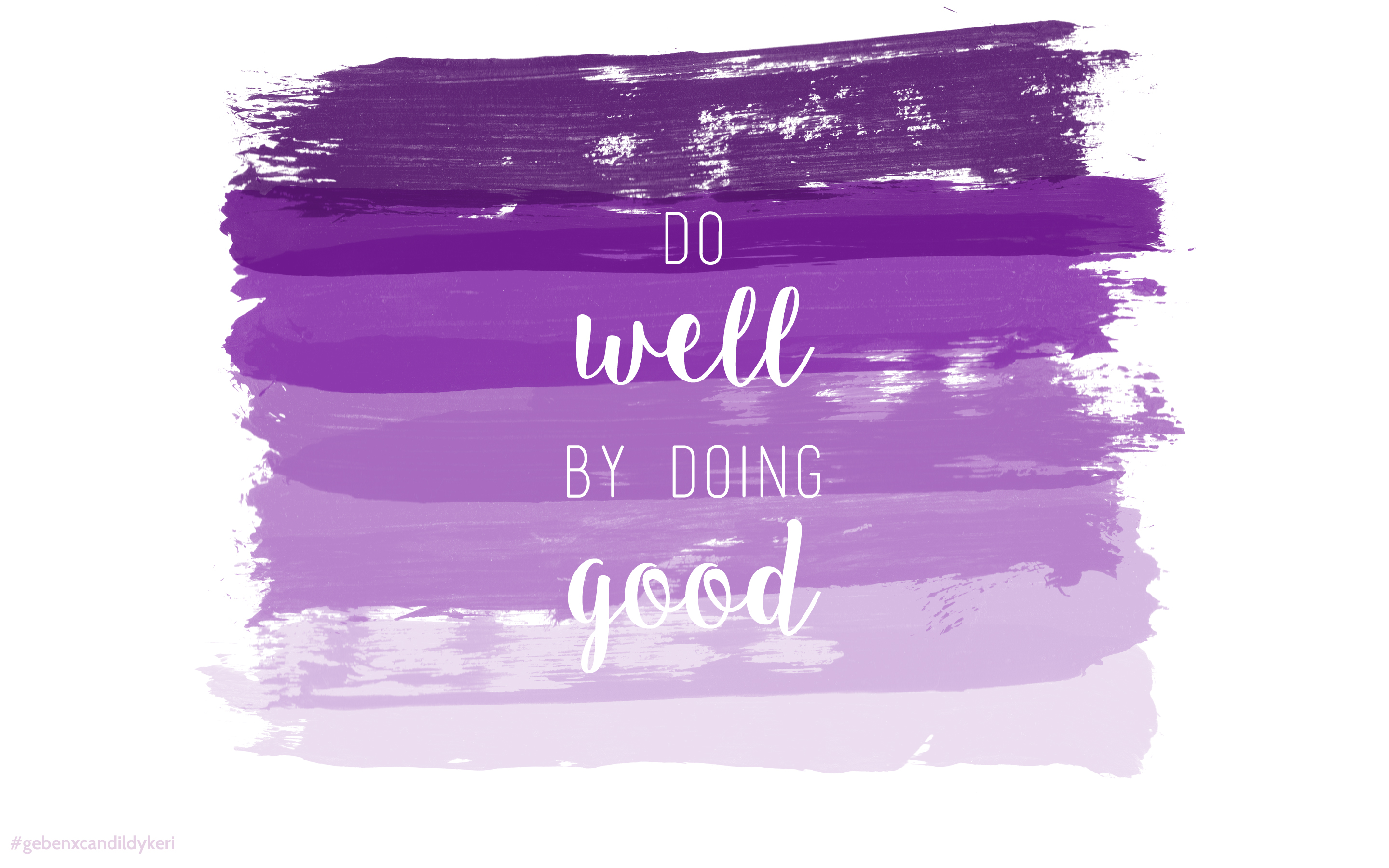 Geben House Rules: Do Well By Doing Good