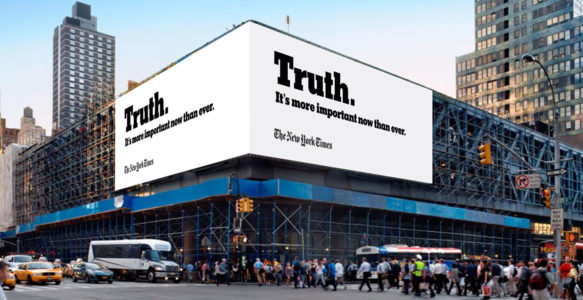 New York Times Truth Ad